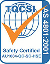 AS 4801 cert logo